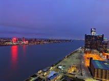 Detroit vs alla Arkivfoton