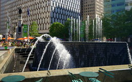 Detroit zabytek i park Obraz Royalty Free