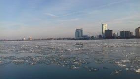Detroits проходя мимо Стоковые Фото