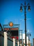 Detroits gamla Tiger Stadium Demolition Royaltyfri Bild
