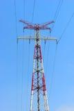Detspänning trådtornet Royaltyfri Fotografi