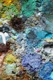 Detta är ett fragment av en palett fotografering för bildbyråer