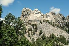 Detta land är vårt land | Mount Rushmore Royaltyfri Fotografi
