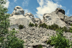 Detta land är vårt land 2 | Mount Rushmore royaltyfri foto