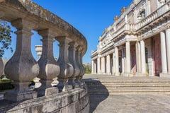 Dettagli architettonici del castello Queluz Sintra Immagine Stock