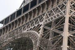 Dettagli architettonici della torre Eiffel, Parigi, Francia, Europa Immagine Stock Libera da Diritti