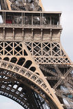 Dettagli architettonici della torre Eiffel, Parigi, Francia, Europa Immagine Stock