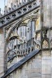 Dettagli architettonici di Milan Cathedral Immagine Stock Libera da Diritti