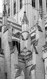 Dettagli architettonici di Washington National Cathedral Immagini Stock Libere da Diritti