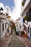 Dettagli architettonici nella vecchia città a Mijas su Costa del Sol Spain Fotografie Stock