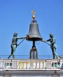 Dettagli astrologici della torre di orologio Fotografia Stock Libera da Diritti
