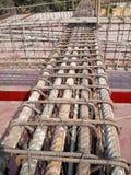 Dettagli d'acciaio della lastra del fascio di Rcc Fotografia Stock Libera da Diritti