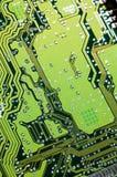 Dettagli dei microchip Fotografie Stock Libere da Diritti