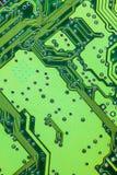 Dettagli dei microchip Fotografia Stock Libera da Diritti