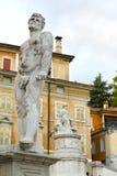 Dettagli del centro storico di Udine Fotografie Stock