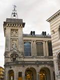 Dettagli del centro storico di Udine Immagine Stock