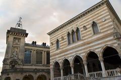 Dettagli del centro storico di Udine Immagini Stock Libere da Diritti