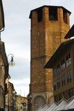 Dettagli del centro storico di Udine Immagini Stock