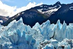 Dettagli del ghiacciaio del ` s di Perito Moreno Immagini Stock Libere da Diritti