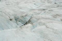 Dettagli del ghiaccio in un ghiacciaio, a sud dell'Islanda Immagine Stock