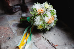 Dettagli del mazzo di nozze immagini stock libere da diritti