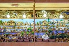 Dettagli del mercato di Natale a Bologna il 22 novembre 2016 Fotografia Stock Libera da Diritti