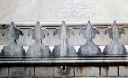 Dettagli del monastero di Curtea de Arges fotografie stock