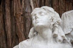 Dettagli del monumento dedicato al poeta Gustavo Adolfo Becquer in Siviglia Fotografie Stock Libere da Diritti