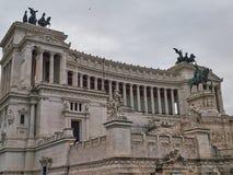Dettagli del monumento nazionale a Victor Emmanuel II a Roma, Italia Immagine Stock Libera da Diritti
