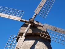 Dettagli del mulino a vento Fotografia Stock Libera da Diritti