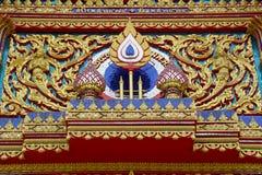 Dettagli del tempio di Phuket Fotografia Stock Libera da Diritti