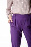 Dettagli dell'abbigliamento del ` s delle donne Il ` s delle donne ansima il modello Immagine Stock Libera da Diritti