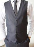 Dettagli dell'abbigliamento maschile Fotografia Stock Libera da Diritti