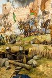 Dettagli dell'assalto finale di Costantinopoli Fotografie Stock Libere da Diritti