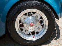 Dettagli dell'automobile d'annata Fotografia Stock Libera da Diritti