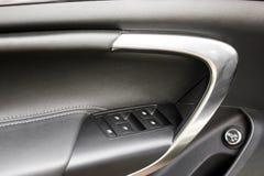 Dettagli dell'automobile Dettagli dell'interno dell'automobile immagine stock libera da diritti