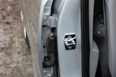 Dettagli dell'automobile Dettagli dell'interno dell'automobile fotografia stock