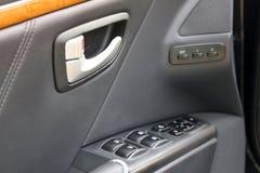 Dettagli dell'automobile Dettagli dell'interno dell'automobile immagine stock