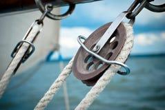 Dettagli dell'yacht Fotografia Stock