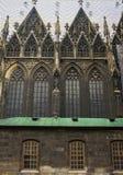 Dettagli della cattedrale della st Vitus Cathedral a Praga Fotografie Stock Libere da Diritti