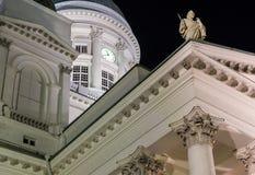 Dettagli della cattedrale di Helsinki Fotografie Stock