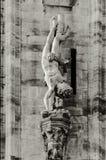 Dettagli della cattedrale di Milano Fotografie Stock