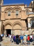 Dettagli della chiesa del sepolcro santo immagine stock libera da diritti