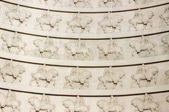 Dettagli della cupola nel Völkerschlachtdenkmal Lipsia Immagine Stock