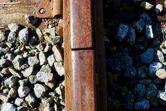 Dettagli della ferrovia Fotografia Stock Libera da Diritti