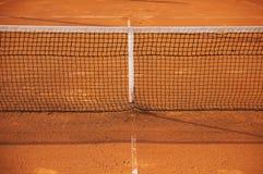 Dettagli della rete di tennis Fotografia Stock