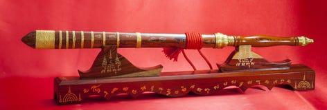 Dettagli della spada tailandese Immagine Stock