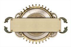 Dettagli della struttura e del movimento a orologeria del metallo Fotografia Stock Libera da Diritti