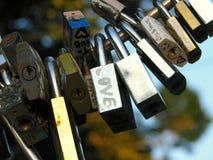 Dettagli delle serrature Fotografie Stock