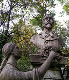 Dettagli delle statue Fotografie Stock Libere da Diritti